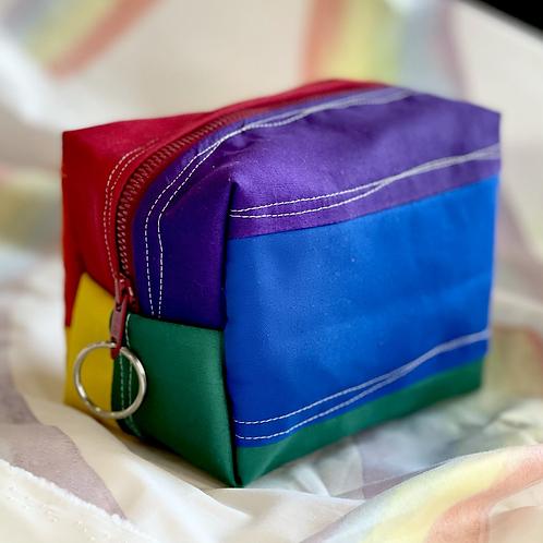 Brite Rainbow Mini Dopp Kit Pouch