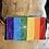 Thumbnail: Brite Rainbow Floral Hip Bag