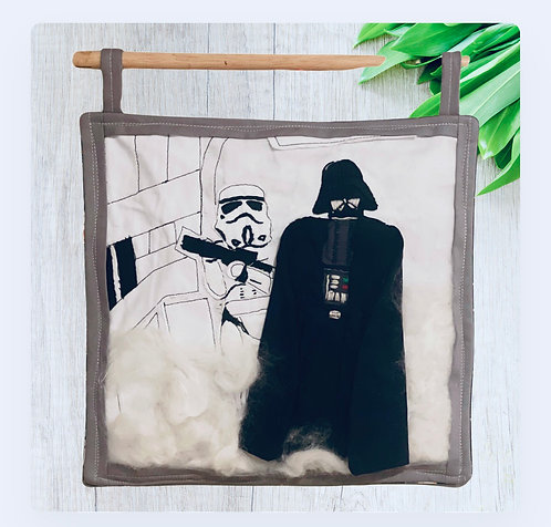 A New Hope Textile Art Wall Hanging
