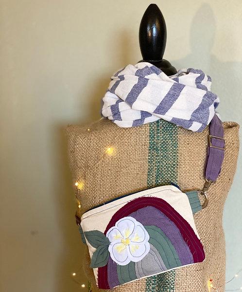 Plumeria Rainbow 4 Way Convertible Everyday Bag