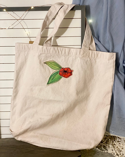 Playful Poppy Tote