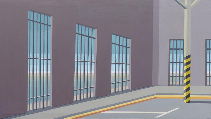 Olimpo- 147 cm x 83 cm - pintura acrilic