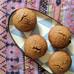 Carob, cardamon and almond cakes