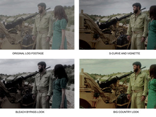 Color correction: Giving your movie a blockbuster shine.
