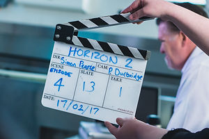 clapper board tv drama