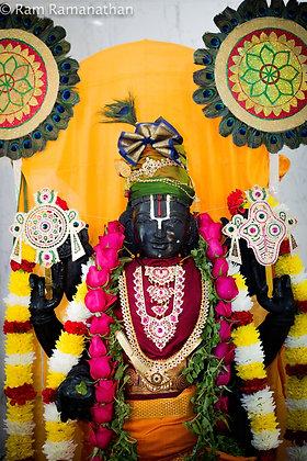 Guruvayurappan Moolavar Abhishekam - (only on scheduled days)