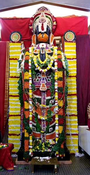 Poolangi Seva - Hanumath Jayanthi