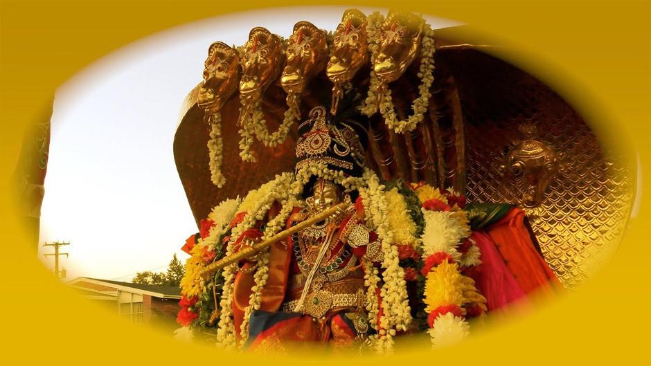 Sri Krishna Jayanthi celebrations & Sesha Vahanam inauguration at SBH Temple - Aug 2019