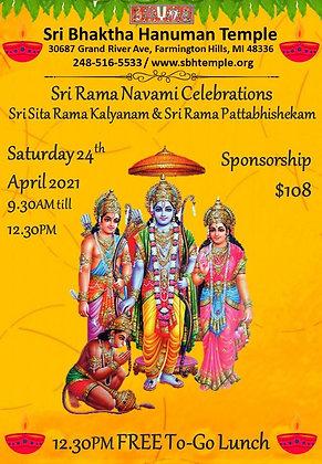 Sri Rama Navami Sponsorship