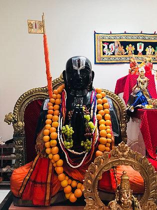 Ramanujar Moolavar Abhishekam - (only on scheduled days)
