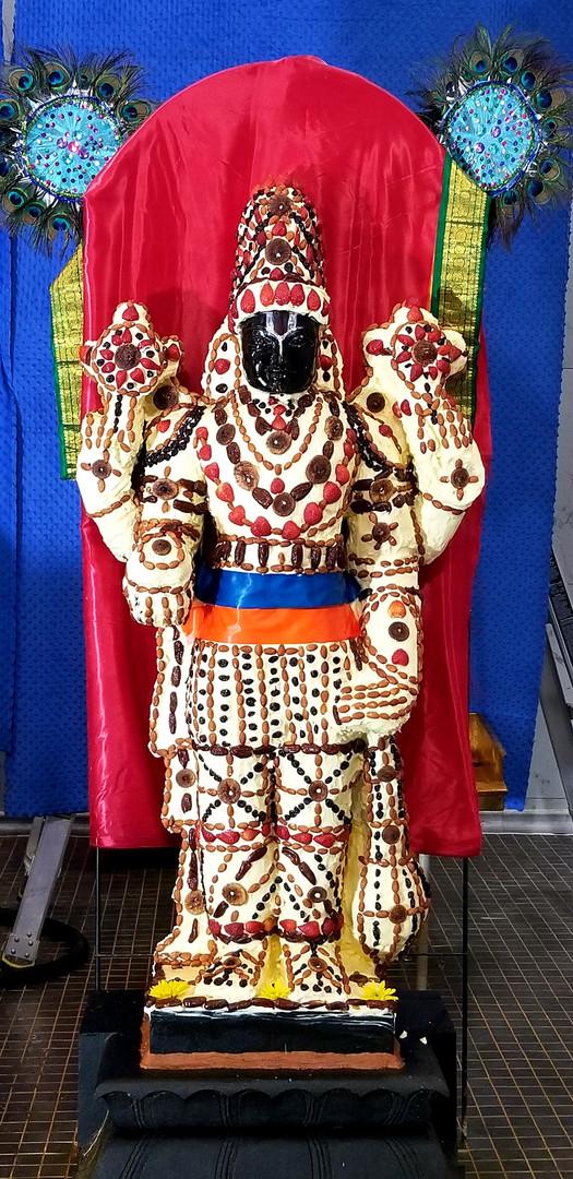 Guruvayurappan Vennai Kaapu (Butter Alankaram)