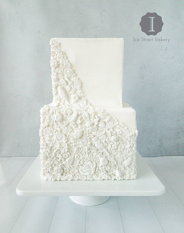 Bas Relief Cake_•_•_•_#weddingcake #basr