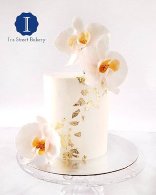 The perfect little 4_ anniversary cake f