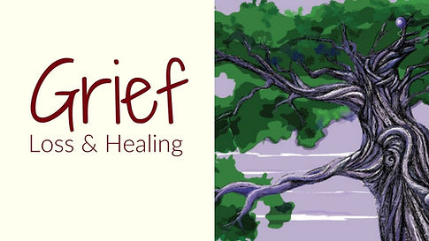 Shadow's Shine Title Card Grief Loss & Healing