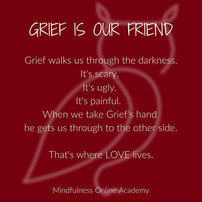 Grief Doesn't Always Look Like Grief