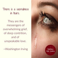 A Day for Grief but No Tears