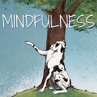 Mozi your Way to Mindfulness Mozi Great Dane Animated Black White 30 days