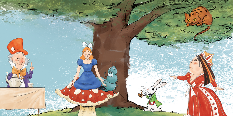 Alice In Wonderland Teapot Mad hatter queen animated