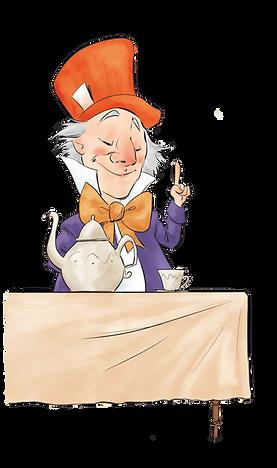 Mad Hatter Purple Coat Teapot