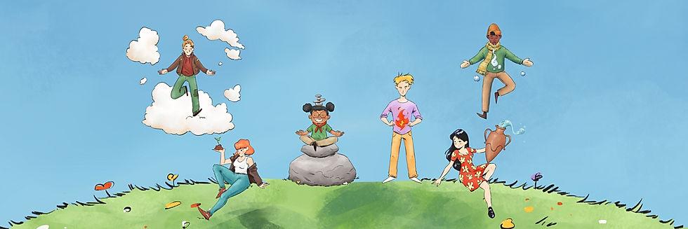 Body Wisdom Cover Mindfulness Online Academy Mascots