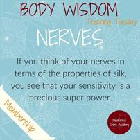 Body Wisdom: Nerves of Silk