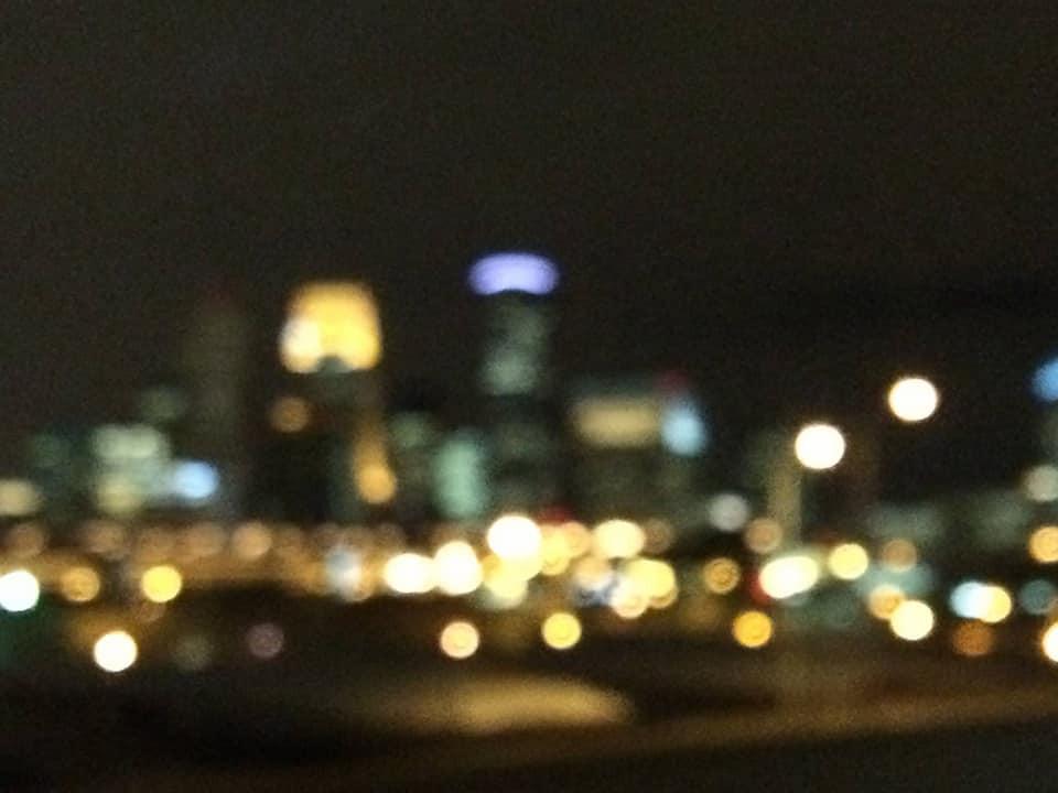 hazy Minneapolis