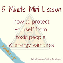 Two Healthy Boundary Hacks for Dealing with Toxic People and Energy Vampires