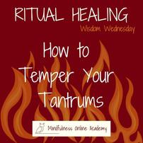 Wisdom Wednesday: Emotional Release Rituals