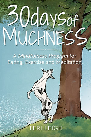 30 Days Of Muchness Ter Leigh Book Cover Great Dane Tree Animated