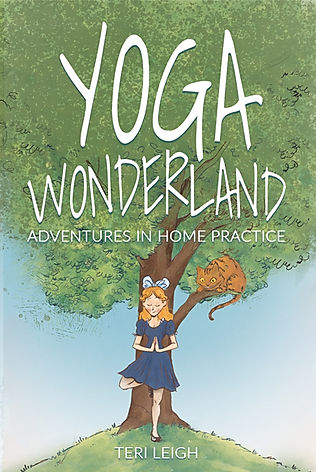 Yoga Wonderland Book Cover Teri Leigh