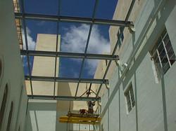 Steel Beams Installation - St Francis School Msida 2