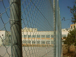 Heavy Galvanised Chainlink Fence