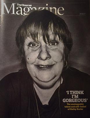 The Observer Kathy Burke