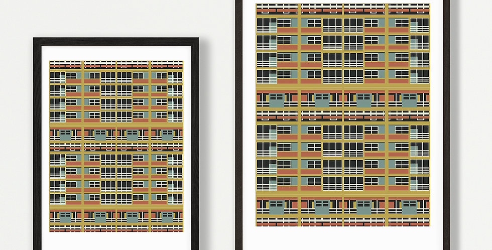 Balfron Tower unframed print