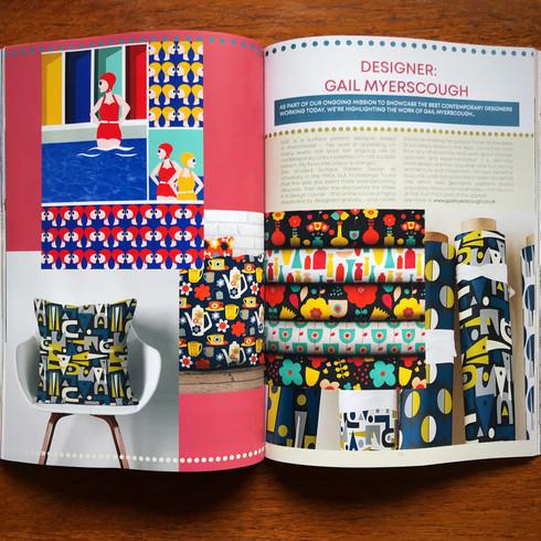 Actual Size magazine Gail Myerscough