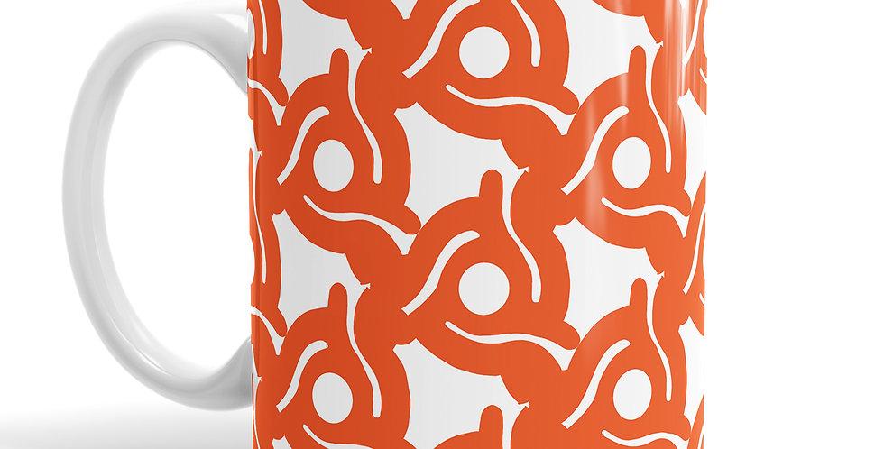Spacer Orange mug