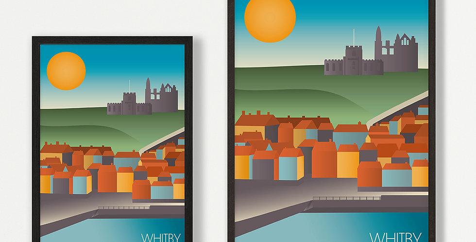 Whitby unframed print