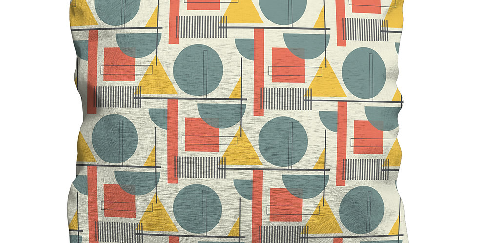Kandinsky Red cushion