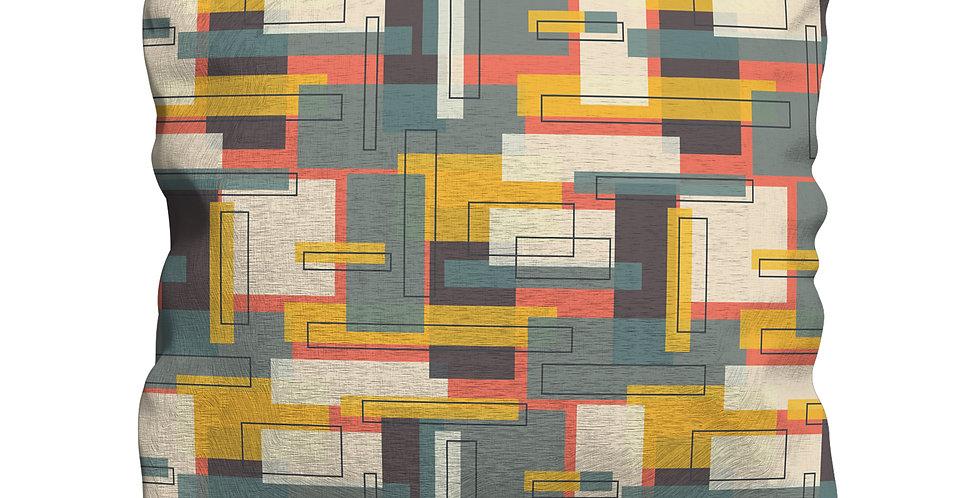 Albers Yellow cushion