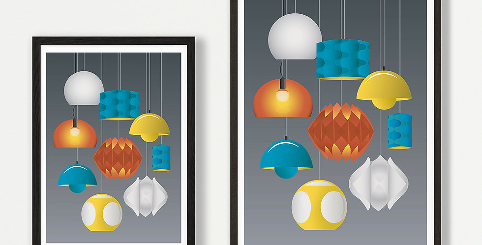 Illuminate unframed print