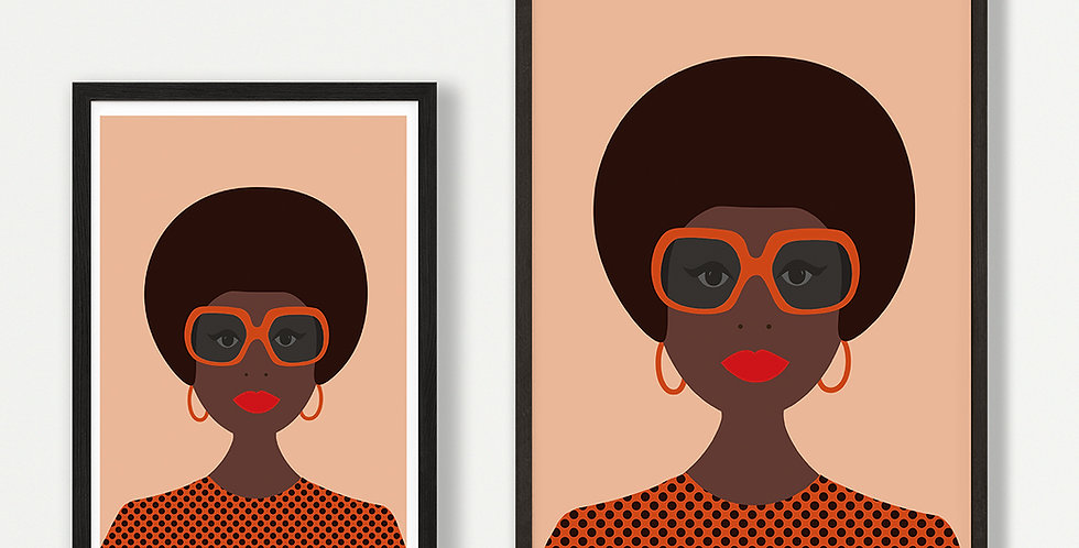 Pam unframed print - wholesale