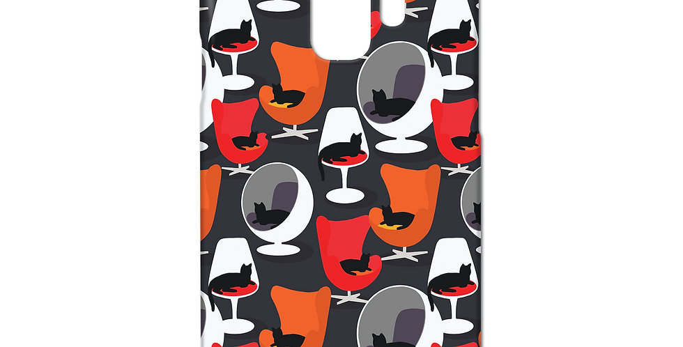 Cats on Chairs Samsung case