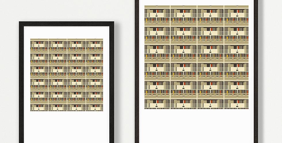 Hulme Print Unframed