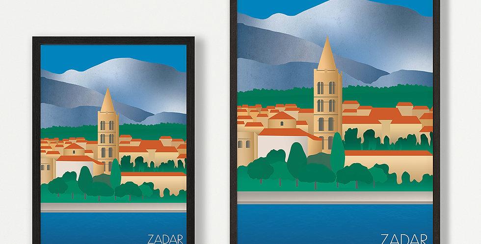 Zadar unframed print
