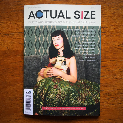 Actual Size magazine