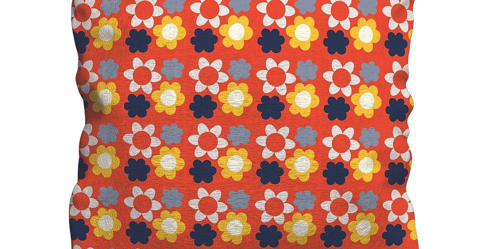 Tea Floral Cushion