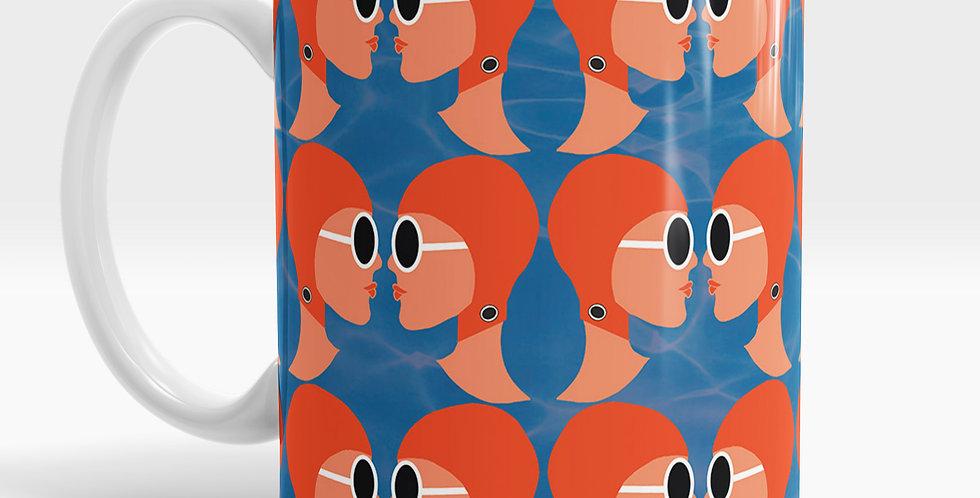 Lido Ladies Orange mug