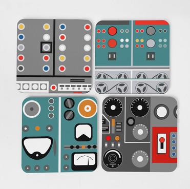 Gerry Anderson Coasters