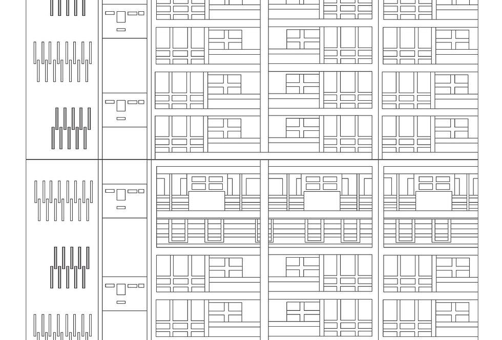 Balfron Tower Colouring Sheet
