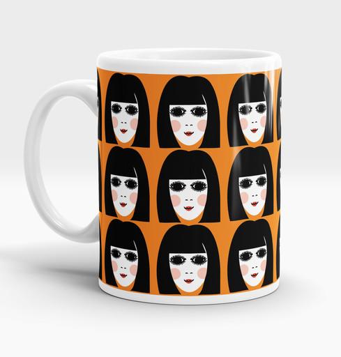 60s Girl mug
